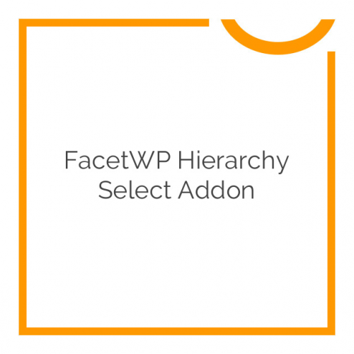 FacetWP Hierarchy Select Addon 0.2.1
