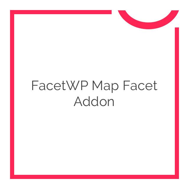 FacetWP Map Facet Addon 0.4