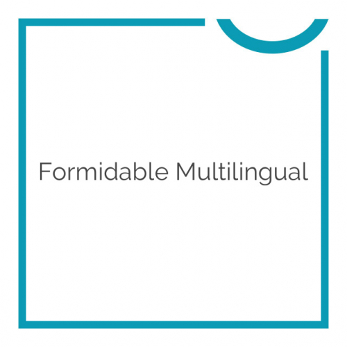 Formidable Multilingual 1.03.03