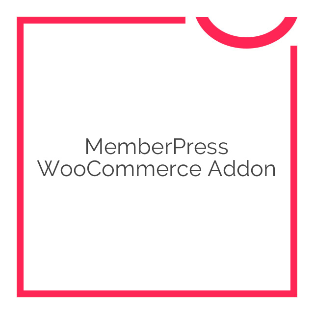 MemberPress WooCommerce Addon 1.0.2