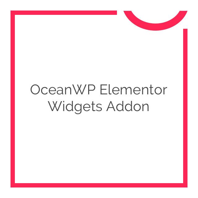 OceanWP Elementor Widgets Addon 1.0.14