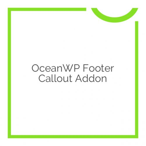 OceanWP Footer Callout Addon 1.0.10