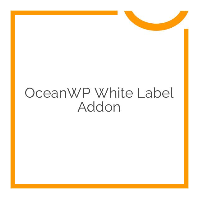 OceanWP White Label Addon 1.0.1