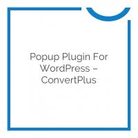 Popup Plugin For WordPress – ConvertPlus 3.0.1