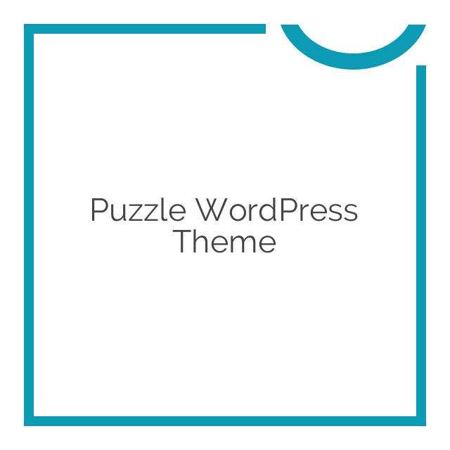 Puzzle WordPress Theme 1.4.2