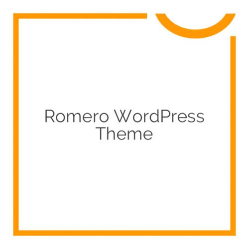 Romero WordPress Theme 1.5.3