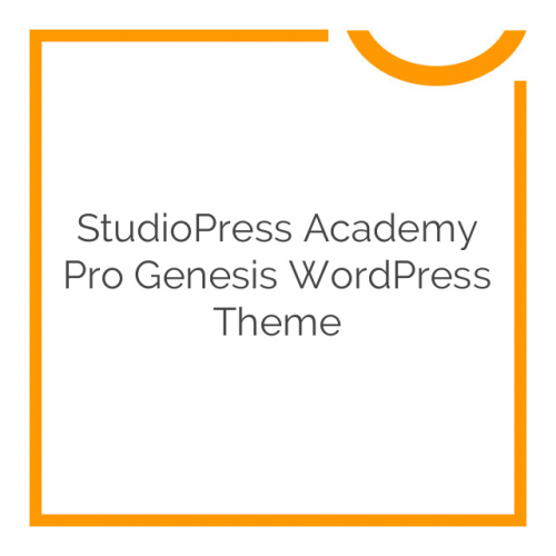 StudioPress Academy Pro Genesis WordPress Theme 1.0.2