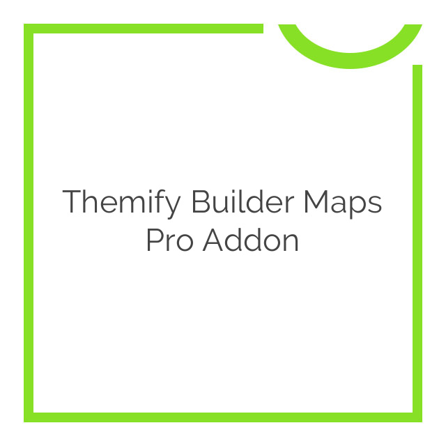 Themify Builder Maps Pro Addon 1.2.2