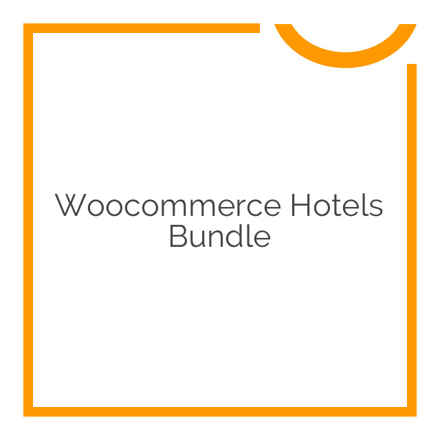 Woocommerce Hotels Bundle 2018