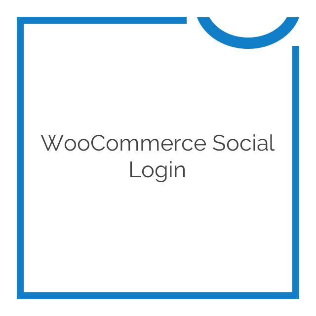 WooCommerce Social Login 2.4.0