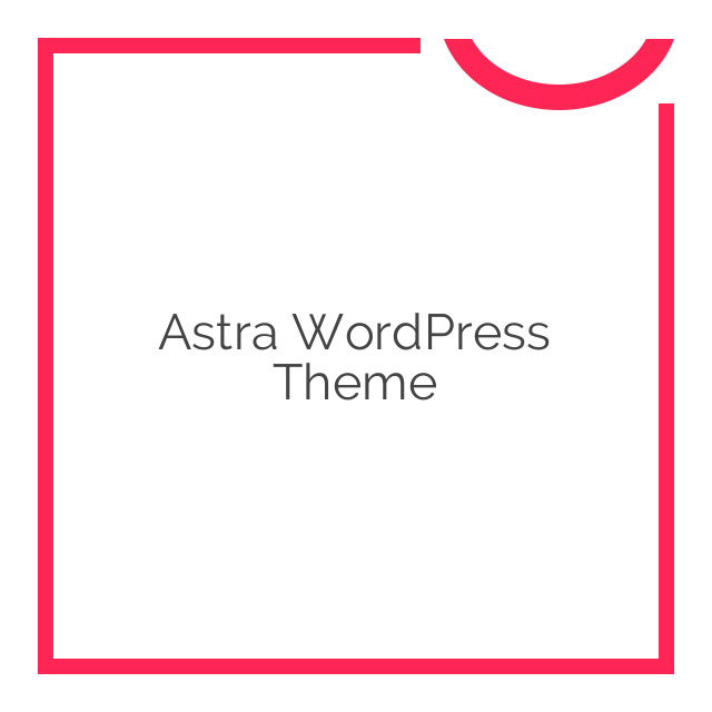 Astra WordPress Theme 1.2.1