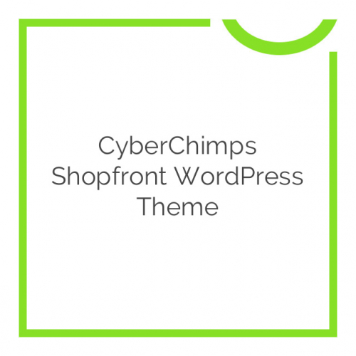 CyberChimps Shopfront WordPress Theme 1.8