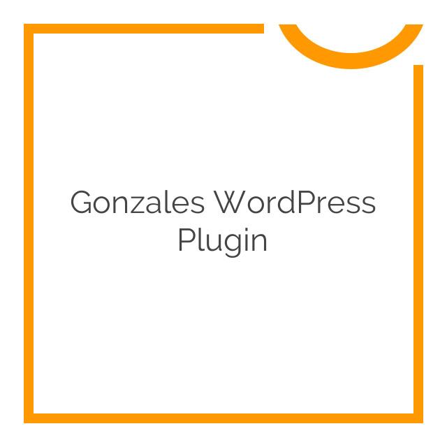 Gonzales WordPress Plugin 2.1