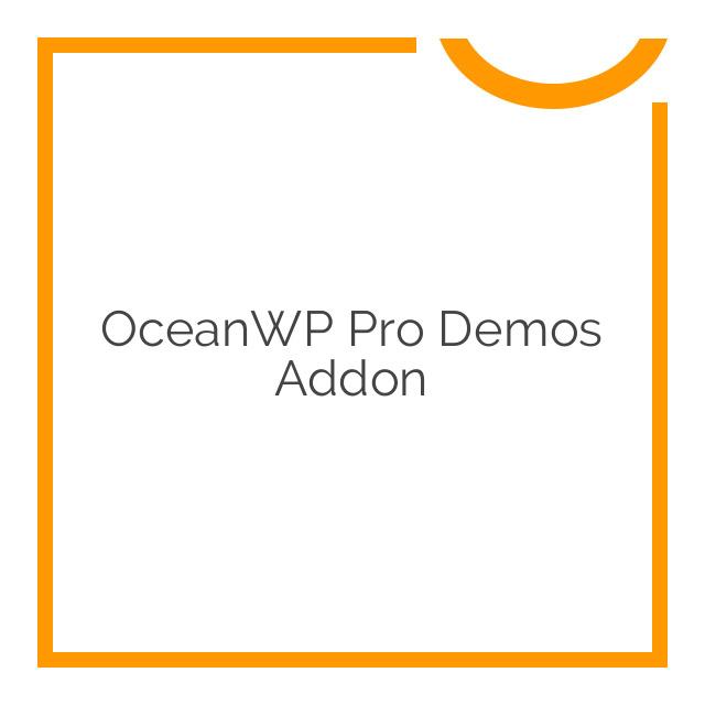 OceanWP Pro Demos Addon 1.0.3