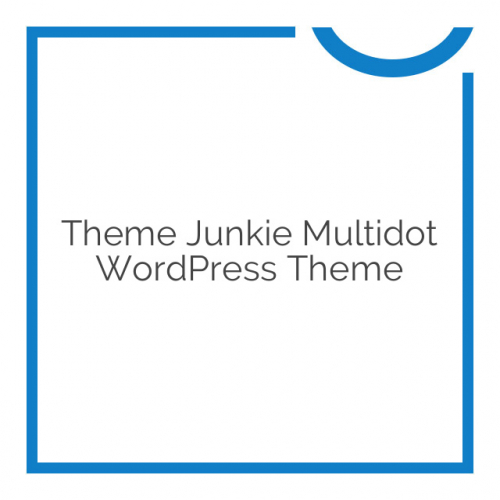 Theme Junkie Multidot WordPress Theme 1.0.0