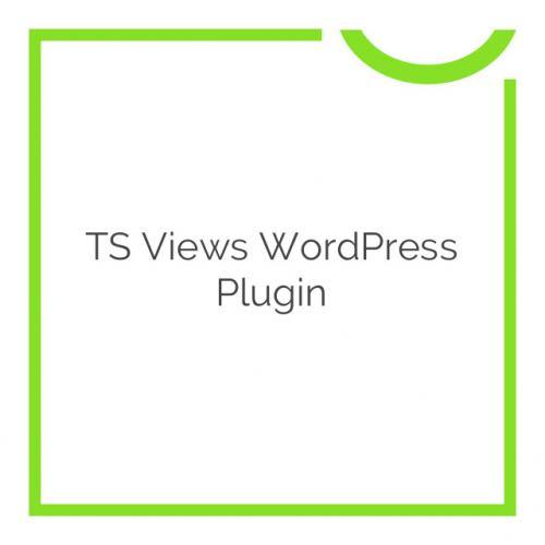 TS Views WordPress Plugin 2.5.2
