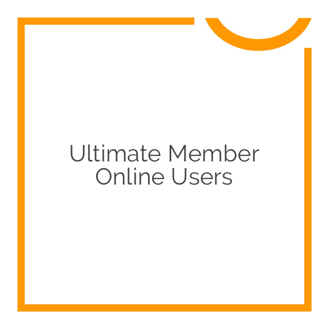 Ultimate Member Online Users