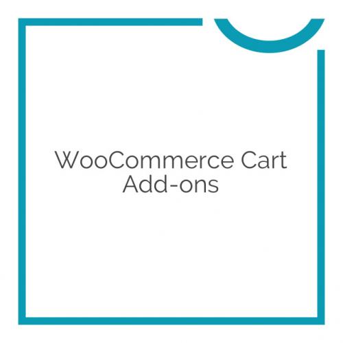 WooCommerce Cart Add-ons 1.5.17