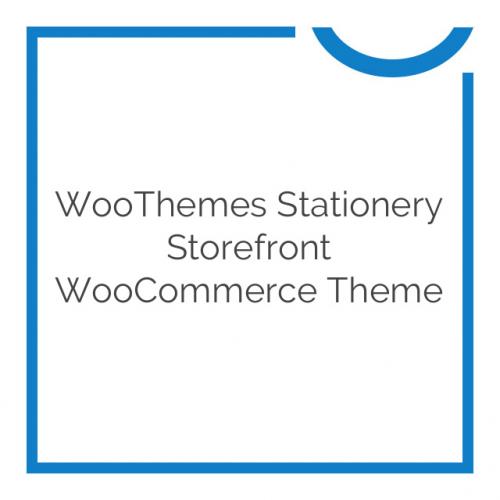 WooThemes Stationery Storefront WooCommerce Theme 1.0.9