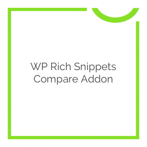 WP Rich Snippets Compare Addon 1.2