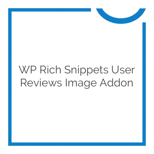 WP Rich Snippets User Reviews Image Addon 1.5
