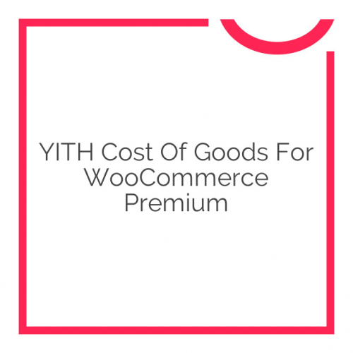 YITH Cost of Goods for WooCommerce Premium 1.0.5