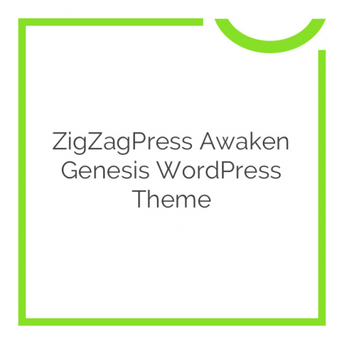 ZigZagPress Awaken Genesis WordPress Theme 1.2.6