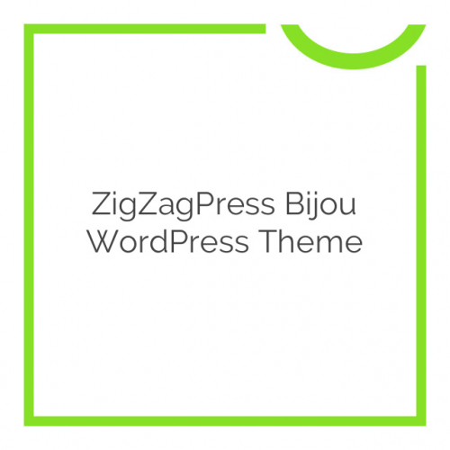 ZigZagPress Bijou WordPress Theme 1.3.3