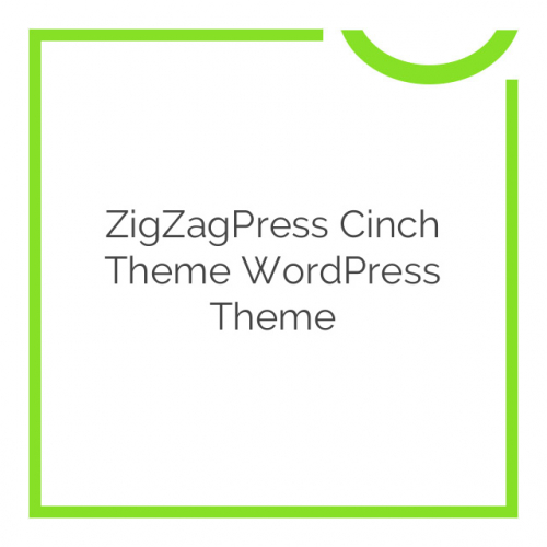 ZigZagPress Cinch Theme WordPress Theme 1.3