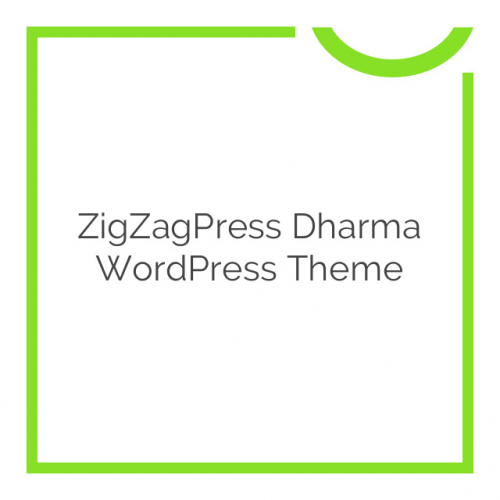 ZigZagPress Dharma WordPress Theme 1.2