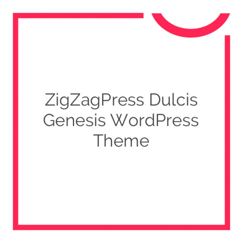 ZigZagPress Dulcis Genesis WordPress Theme 1.0.0