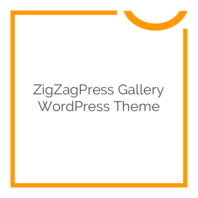 ZigZagPress Gallery WordPress Theme 1.6