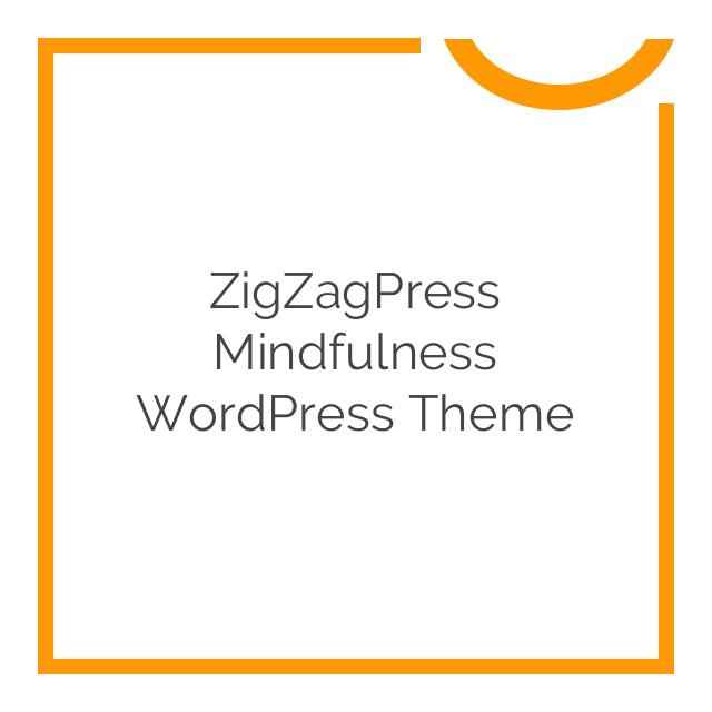 ZigZagPress Mindfulness WordPress Theme 1.5