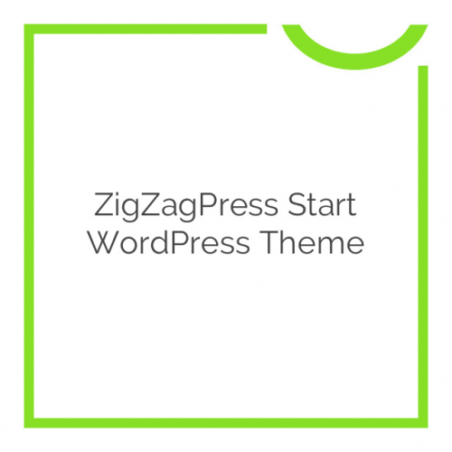 ZigZagPress Start WordPress Theme 1.2.8