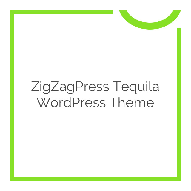 ZigZagPress Tequila WordPress Theme 1.7
