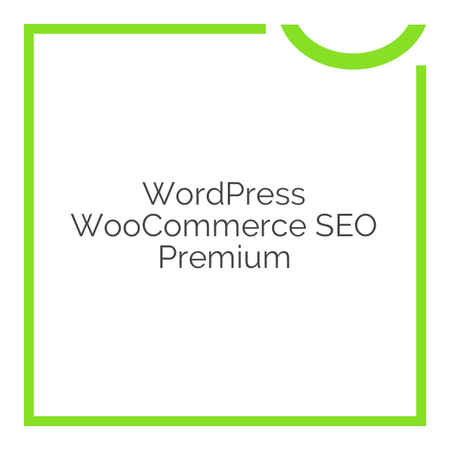 WordPress WooCommerce SEO Premium 7.0