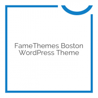 FameThemes Boston WordPress Theme 1.1.2