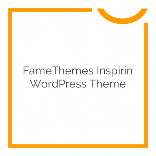 FameThemes Inspirin WordPress Theme 1.2.0