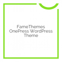 FameThemes OnePress WordPress Theme 2.0.6