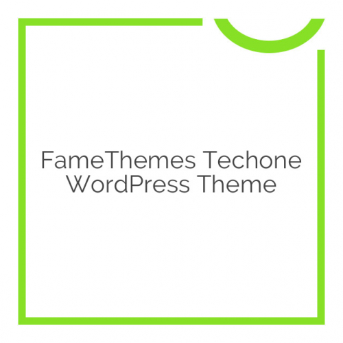 FameThemes Techone WordPress Theme 1.0.6