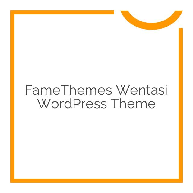 FameThemes Wentasi WordPress Theme 2.0.1
