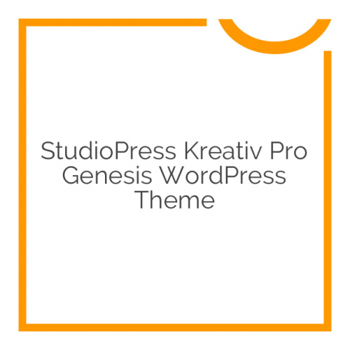 StudioPress Kreativ Pro Genesis WordPress Theme 1.2.2