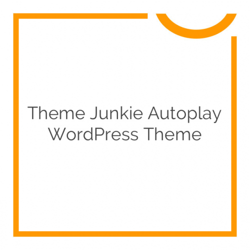Theme Junkie Autoplay WordPress Theme 1.0.0