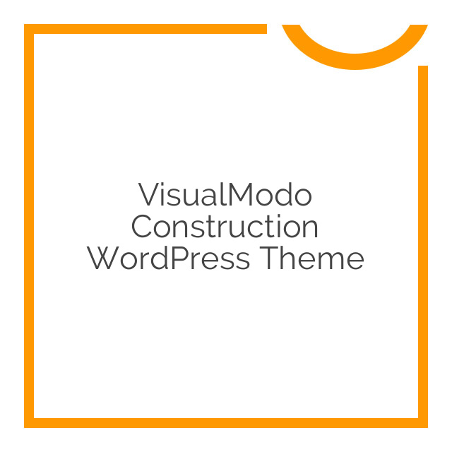 VisualModo Construction WordPress Theme 1.0.1