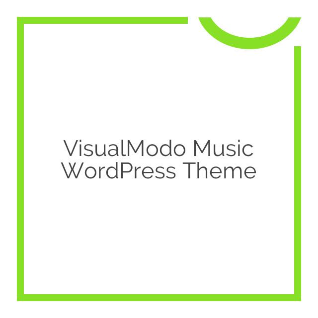 VisualModo Music WordPress Theme