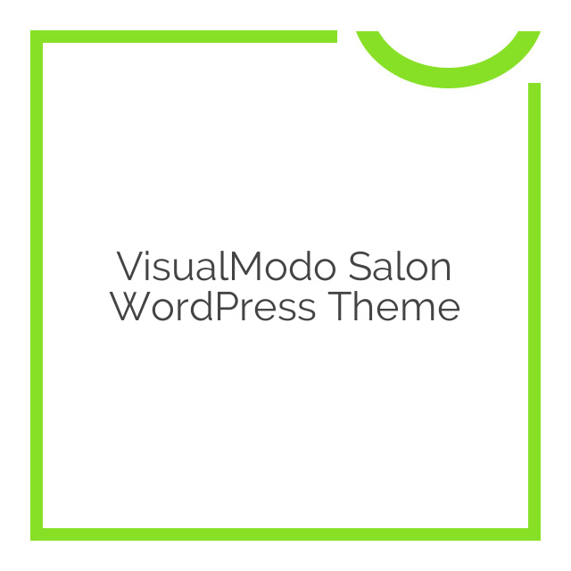 VisualModo Salon WordPress Theme 1.0.2