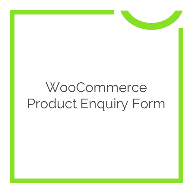 WooCommerce Product Enquiry Form 1.2.5