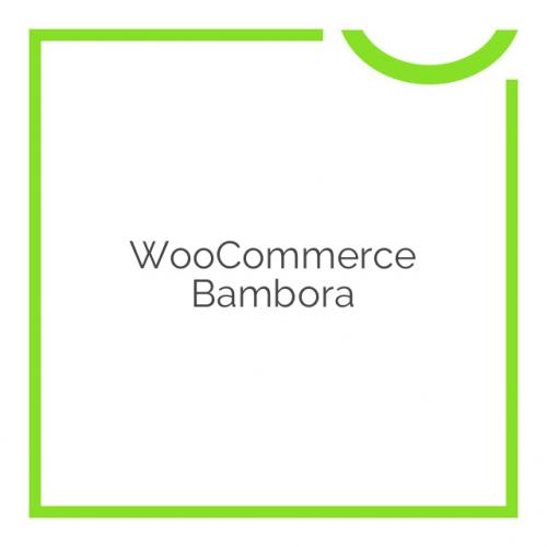 WooCommerce Bambora 2.0.0
