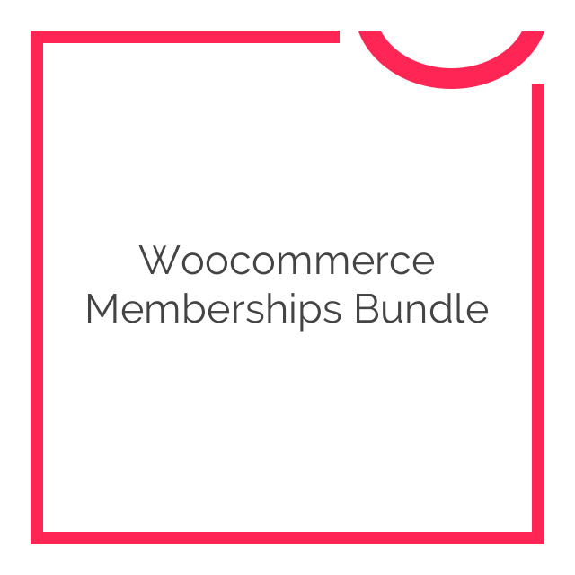 Woocommerce Memberships Bundle 2018
