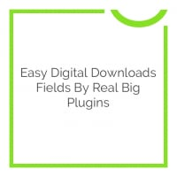 Easy Digital Downloads Fields by Real Big Plugins 1.0.1
